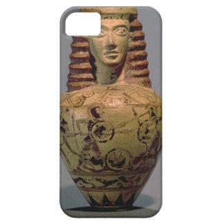 Proto-Corinthian aryballos with a human head deco iPhone 5 Case