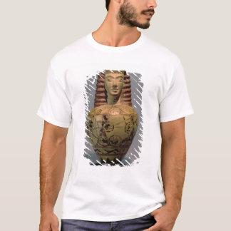 Proto-Corinthian aryballos with a human head, deco T-Shirt