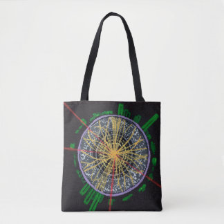Proton Collisions at the LHC double-sided tote