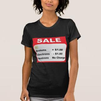 protons electrons neutrons sale T-Shirt