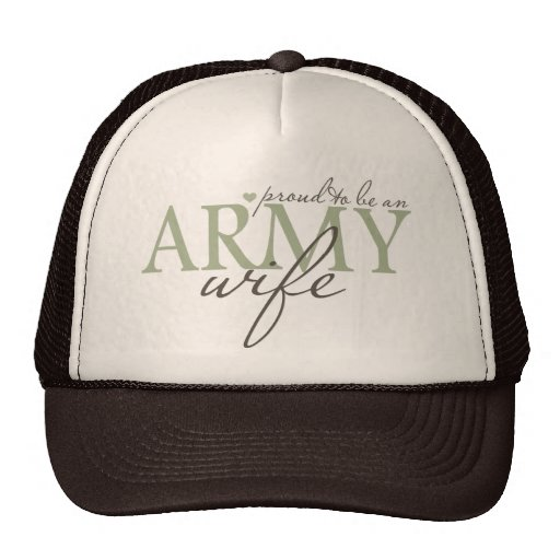proud2beanarmywife mesh hat