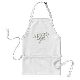 proud2beanarmywife standard apron