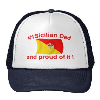 Proud #1 Sicilian Dad Trucker Hat