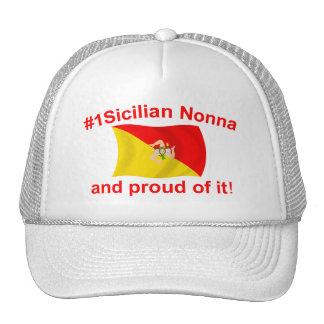 Proud #1 Sicilian Nonna Trucker Hats