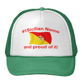 Proud #1 Sicilian Nonno Cap
