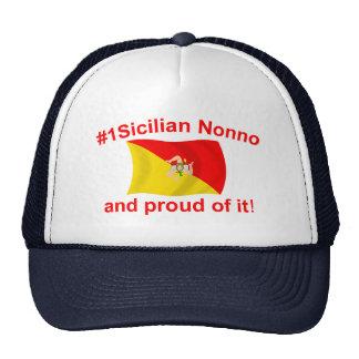 Proud #1 Sicilian Nonno Mesh Hat