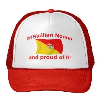 Proud #1 Sicilian Nonno Hats