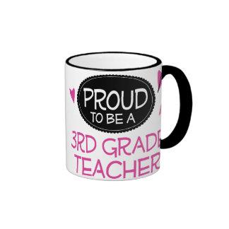 Proud 3rd Grade Teacher Coffee Mug