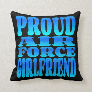 Proud Air Force Girlfriend Cushion