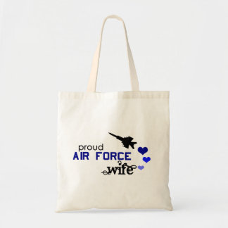 Proud Air Force Wife Bag