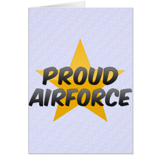 Proud Airforce Cards