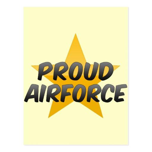 Proud Airforce Postcard