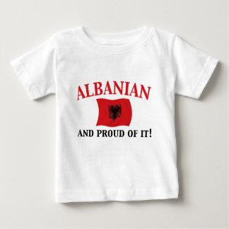 Proud Albanian Baby T-Shirt