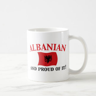 Proud Albanian Coffee Mug