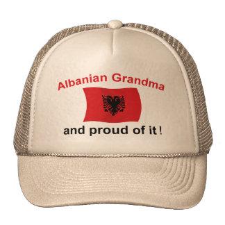 Proud Albanian Grandma 2 Mesh Hats