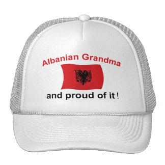 Proud Albanian Grandma 2 Hats