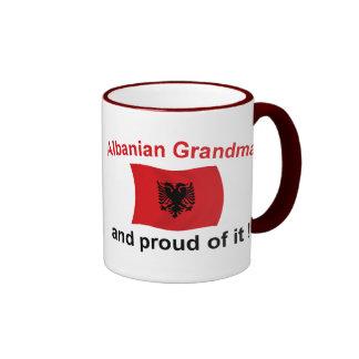 Proud Albanian Grandma 2 Coffee Mugs