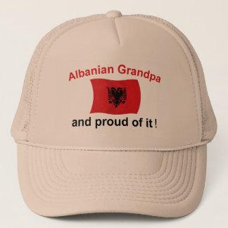 Proud Albanian Grandpa Trucker Hat
