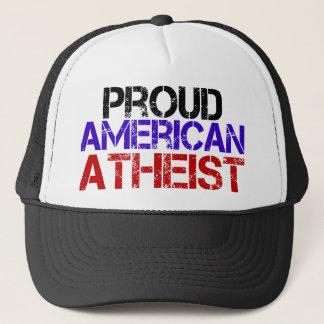 Proud American Atheist Trucker Hat