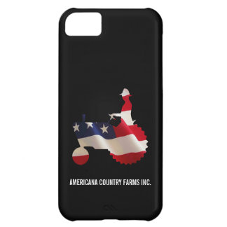Proud American Farmer  USA Flag Tractor iPhone 5C Case
