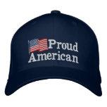 Proud American Flag NB Baseball Cap