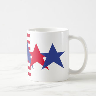 Proud American Frosted White Mug