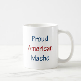 Proud American Macho Coffee Mug
