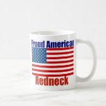 Proud American Redneck Classic White Coffee Mug