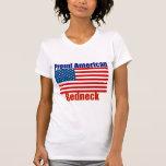 Proud American Redneck T Shirt