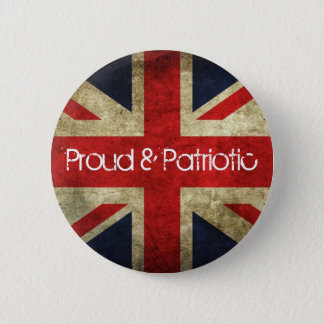 Proud and Patriotic Union Flag Badge