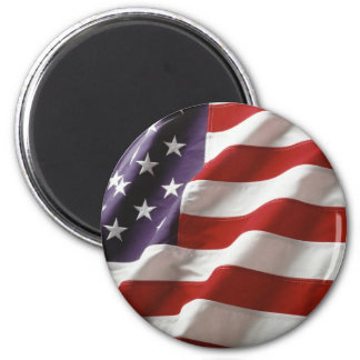 Proud and Patriotic USA Flag Magnet