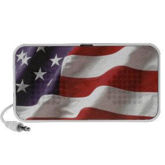 Proud and Patriotic USA Flag Mini Speakers