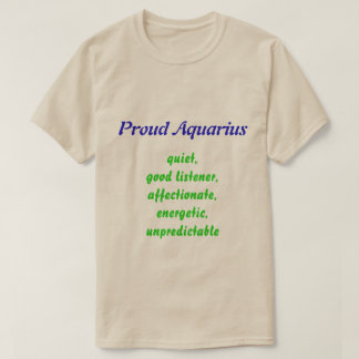 Proud Aquarius Tshirt