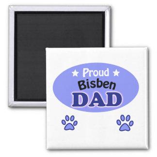 Proud are dad square magnet