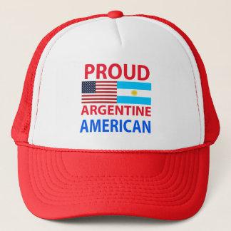 Proud Argentine American Trucker Hat