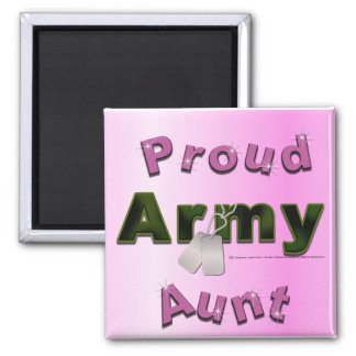 Proud Army Aunt Magnet