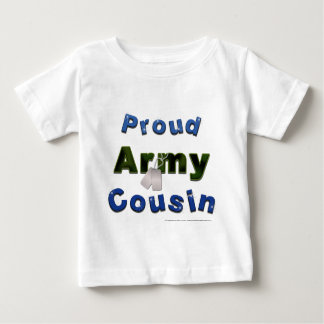 Proud Army Cousin Blue Toddler Tee