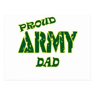 Proud Army Dad Postcard