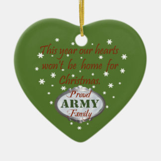 Proud Army Family Ornament