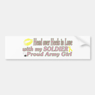 Proud Army Girl Bumper Stickers