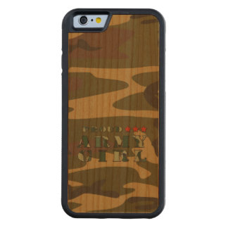 Proud Army Girl Cherry iPhone 6 Bumper Case