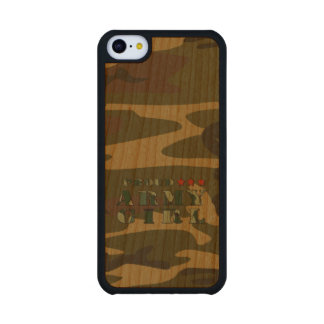 Proud Army Girl Carved® Cherry iPhone 5C Slim Case