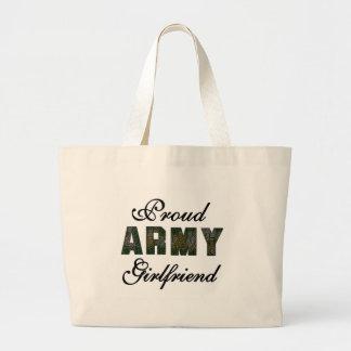 Proud Army Girlfriend Bags