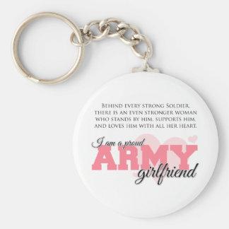 Proud Army Girlfriend Key Chains