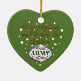 Proud Army Girlfriend Ornament