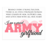 Proud Army Girlfriend Postcards