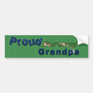 Proud Army Grandpa Bumper Sticker