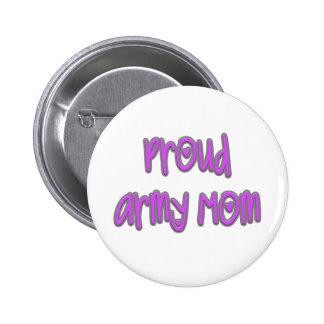 Proud Army Mom Pin