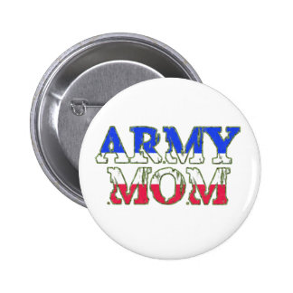 Proud Army Mom Button