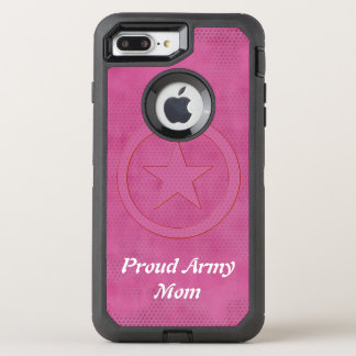 Proud army mom defender OtterBox defender iPhone 8 plus/7 plus case